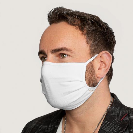 HAKRO Mund-Nasen-Maske, weiß