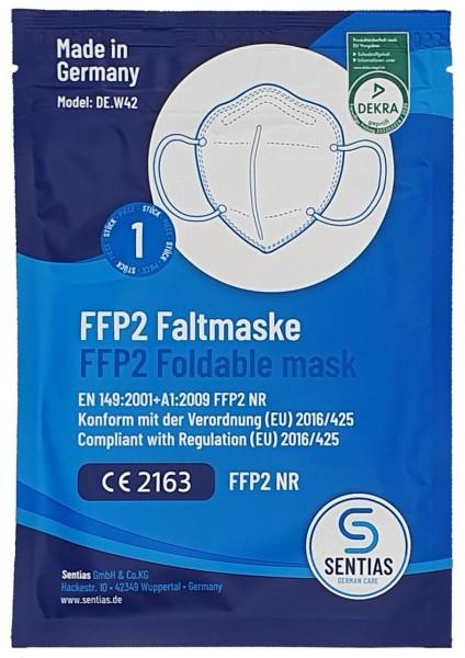 """FFP2 Faltmaske """"Made in Germany"""""""